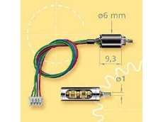 Smallest two-phase stepper motor