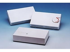 Wall mounting enclosures for room thermostats and sensors