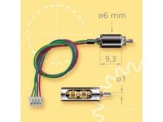 World's smallest 2-phase stepper motor