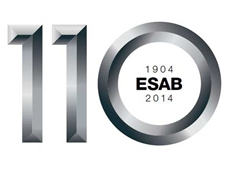 ESAB is celebrating its 110th anniversary in September 2014