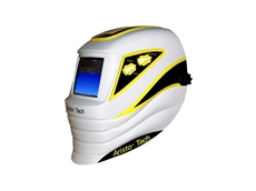 The new Aristo Tech welding helmet is lightweight and comfortable, while meeting the necessary Australian Standards including Grade B impact rating for grinding use