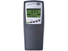 SenseAir portable CO2 analysers feature a built-in data logger