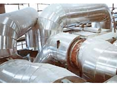 Installation of KE fabric expansion joint in a pulp and paper mill