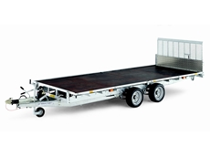 Ifor Williams range of flatbed and plant trailers available from East Coast Trailers
