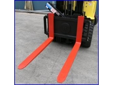 The XR2-25 180 Degree Rotator Forklift Attachment from East West Engineering