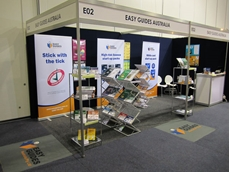 Easy Guides Stand at the WA Safety Show