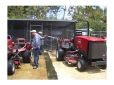 Ecologic International - Golf course washdown bays and chemical treatment