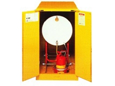 Flammable Safety Cabinets available in 30 litre to 250 litre models