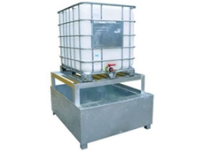 Durable IBC Containment Pallets