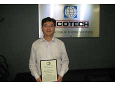 Don Zhao, engineer of Ecotech, has received the Metrology Society of Australia Award 2011.