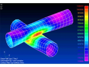 Diverse with capabilities Femap effectively constructs finite element models for complex engineering problems