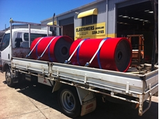 Conveyor Rollers from Elastomers Queensland