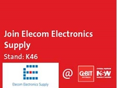 Elecom Electronics Supply will be exhibiting their products on Stand K46