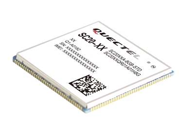 Quectel SC20 Smart modules with built in Android, LTE, WiFi
