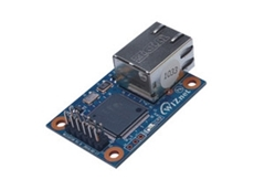 Wiznet WIZ107SR compact serial-to-Ethernet RS232 module