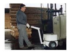 Electrodrive Tug for trolleys