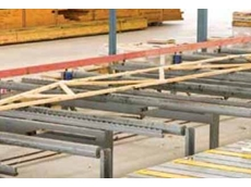 Pre-fabricated timber trusses are difficult to move due to their physical span and weight