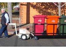 Electrodrive's waste bin mover and tug