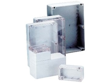 Versatile moulded enclosure range.