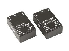 PCB mounted dc-dc converters.