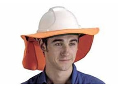 Elliotts' sun protection helmet cover
