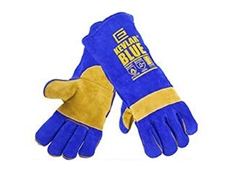 Kevlar Blue certified welding gloves