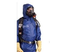 Saint-Gobain ONESuit Shield hazmat protective suit
