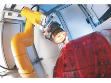 Laser plastics welding in automotive taillight