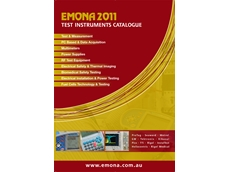 Emona Instruments' 2011 Test Instruments Catalogue