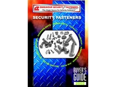 Security fastener catalogue