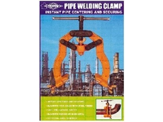 Super pipe welding clamps save time