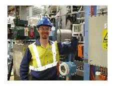 BlueScope Project Engineer Shannon Ballard