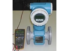 Promag 23 electromagnetic flowmeter.