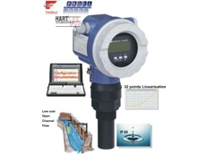 The Prosonic M ultrasonic level transmitter.