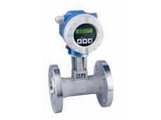 Multi-variable vortex flowmeters for cost-effective mass flow and energy measurement from Endress + Hauser Australia