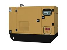 A 10-35KVA generator set enclosure