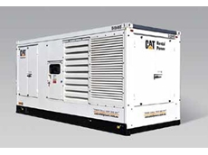 The new Cat 1360 kVA generator, complete with Cat 3512B engine