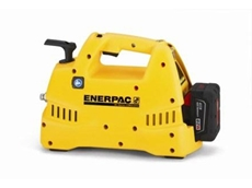 Enerpac's new XC-Series cordless pump