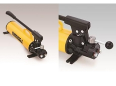 Double-acting precision, safety and ease-of-use from Enerpac P84 ULTIMA hand pumps
