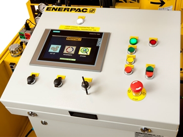 Easy operation and reliable control with digital monitoring and display system