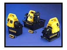 Enerpac's Z-Series hydraulic pumps.