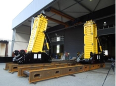 Enerpac MBL5000 hydraulic gantry designed to provide safety standards of the future