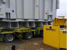 Enerpac helps slash transport costs with accurate equipment weighing