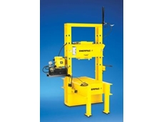 Enerpac roll-frame press enhances safety while saving maintenance downtime