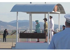 Enerpac's lifting technologies were used for constructing an elevating dais for HM Queen Elizabeth II during her recent visit to Australia
