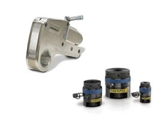 Enerpac W2200 steel hydraulic torque wrench and GT series tensioners