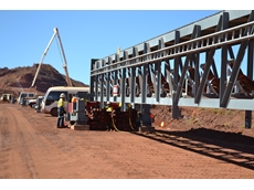 Enerpac split flow pumps provide quadruple conveyor lift efficiency at Rio's Tom Price mine.