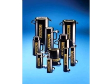 Enerpac's lightweight hydraulic cylinders.