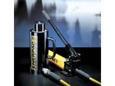Enerpac's X-Treme portable hydraulic handpump set.