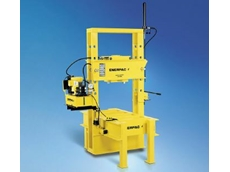 Enerpac's roll-frame press.